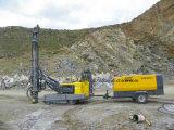 地図書のCopco 582cfm鉱山のための携帯用ねじ圧縮機