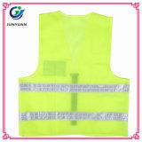 Tessuto lavorato a maglia 120g accettabile dell'OEM che avverte maglia riflettente