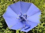 Im Freien faltbare Sun-Regen-Regenschirm-Hut-Multifunktionsschutzkappe für das Fischen-Kampieren