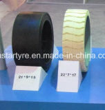 Fabricante de neumáticos Venta al por mayor 28 * 12 * 22 Press-on Solid Tire