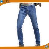 工場方法デニムの洗浄のズボンの綿の細い人のジーンズ