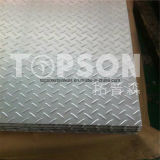 Plaque de plancher en diamant en acier inoxydable en acier inoxydable 304 haute résistance