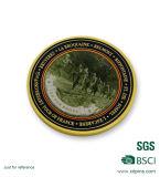 Подгоняйте монетку сувенира серебра сплава цинка для промотирования (HST-CS-002)