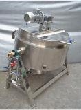 食糧化学のための衛生ガスLPGの液化天然ガスの熱するJacketedやかん