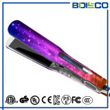 Ce&FCC aprobó a enderezadora ancha plana iónica del hierro del pelo de la placa del LCD