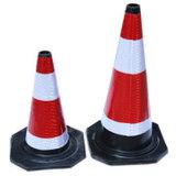 Cones de borracha industriais do tráfego de Professioanl da boa qualidade