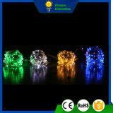 Kupfernes Zeichenkette-Licht Weihnachtsdekoratives wasserdichtes 10m-LED
