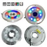 샘을%s 24V IP68 RGB 스테인리스 수중 LED 빛