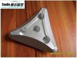 Aluminio de encargo de la precisión 6061 piezas trabajadas a máquina productos que trabajan a máquina del CNC