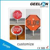 Het Teken van de Verkeersveiligheid van het plastiek/van het Metaal/Het Weerspiegelende Waarschuwingssein van het Verkeer