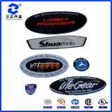 Cristal UV da resina - etiquetas abobadadas do poliuretano resina desobstruída com logotipo feito sob encomenda