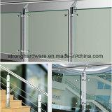 Garnitures amovibles de balustrade d'acier inoxydable, balustrade moderne