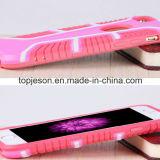 Caja mezclada del teléfono de la armadura del color fresco del modelo para el iPhone 6s