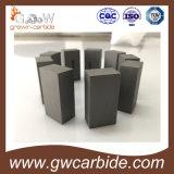 Placa do carboneto de tungstênio/tira carboneto cimentado para a ferramenta de estaca