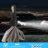 H1 H3 H4 H7 H11 9005 9007 nueva linterna del coche H7 de la lámpara de la pista de la iluminación del diseño LED del poder más elevado