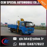 6t 이동할 수 있는 공장 가격, 판매를 위한 트럭 기중기를 가진 트럭에 의하여 거치되는 기중기 제조