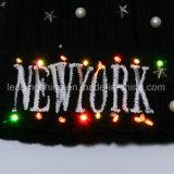 Шнур светов рождества цвета шлема 20 СИД ткани зимы Multi для F3 светов украшений партии патио рождества