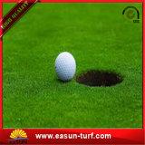 Relvado artificial da grama do golfe para a grama sintética do relvado do verde de colocação do golfe