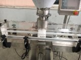 Máquina de enchimento de medida do pó do eixo helicoidal Inline automático