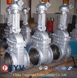 Valvola a saracinesca d'acciaio forgiata manuale del cuneo di ASME