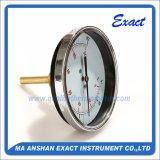Termometro nero di temperatura dell'Termometro-Acqua del corpo di acciaio - termometro bimetallico