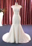 Nixe-Ivory Spitze-Hochzeits-Kleid