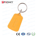 Zeit-Anwesenheits-Zugriffssteuerung RFID Keyfob gebildet durch ABSmaterial
