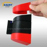 안전 방벽 벽 마운트 철회 가능한 방벽 테이프에 3m 벨트 카세트