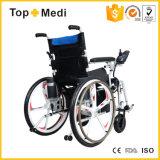 Topmedi 5つのフォークの車輪Foldable取り外し可能な力の電動車椅子の価格
