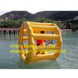 おかしく膨脹可能な水ゲーム水ローラー、膨脹可能な水車輪水おもちゃ