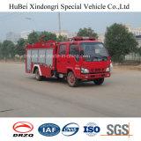 euro especial 4 del carro del coche de bomberos del agua de 4ton Isuzu
