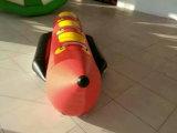 Haltbarer aufblasbarer Bananen-Pool-Gleitbetrieb, aufblasbare Bananen-Boots-Preise