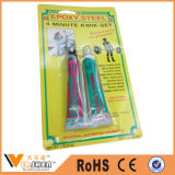 aço adesivo Epoxy rápido da cola Epoxy da colagem Epoxy de 4 a 5 minutos