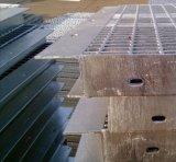 Gegalvaniseerde Grating van het Platform van het Staal met de Plaat van de Schop