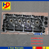 Cabeça de cilindro 4HK1 do motor Diesel para a peça de motor de Isuzu