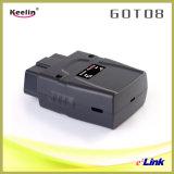 Отслежыватель автомобиля GPS подключи и играй OBD-II Легк-к-Устанавливает (got08)