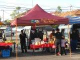 De waterdichte Luifel van de Tenten Gazebo van het Canvas 10X10 van pvc voor OpenluchtPartij voor Hete Verkoop
