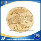 Монетка металла сувенира верхнего качества покрынная золотом (Ele-C132)