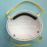 Respirador protector de la cara del carbón activo de 4 capas para el uso industrial