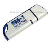 Aandrijving van de LEIDENE de Waterdichte Duim van het Kristal USB met Aangepast Embleem (759)