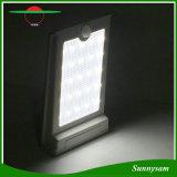 Indicatore luminoso solare esterno alimentato solare impermeabile della parete del sensore di movimento dell'indicatore luminoso PIR di alta luminosità 25 LED