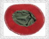Chapéu da senhora Forma Crochet Tecelagem Beanie com borda (1-3405)