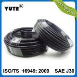 Yute SAE J30r9高い抗張Aramid編みこみのFKMの燃料ホース