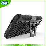 Caixa combinado preta do Holster para o iPhone 6 4.7 polegadas com Kickstand