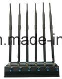 Jammer регулируемых 8 антенн высокомощный GPS/WiFi/VHF/UHF