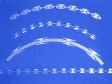 Тип лезвия Bto-22 гальванизировал Concertina провод ленты бритвы для предохранения