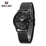 Relógio das mulheres do seletor do setor do diamante do negócio de Belbi