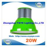 Lampe élevée élevée de compartiment de la lumière 20W DEL de compartiment de l'ÉPI DEL de l'ÉPI DEL Highbay /20W du prix concurrentiel 20W de Yaye 18 avec Ce/RoHS