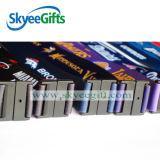 Lanière faite sur commande de bande de clé de polyester de collet avec le cadeau fait sur commande de logo