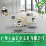 Nuevo diseño de personal Oficina de escritorio Muebles de oficina con pie de acero